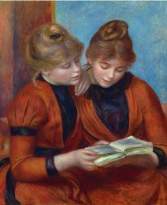 image of Renoir's painting The Two Sisters
